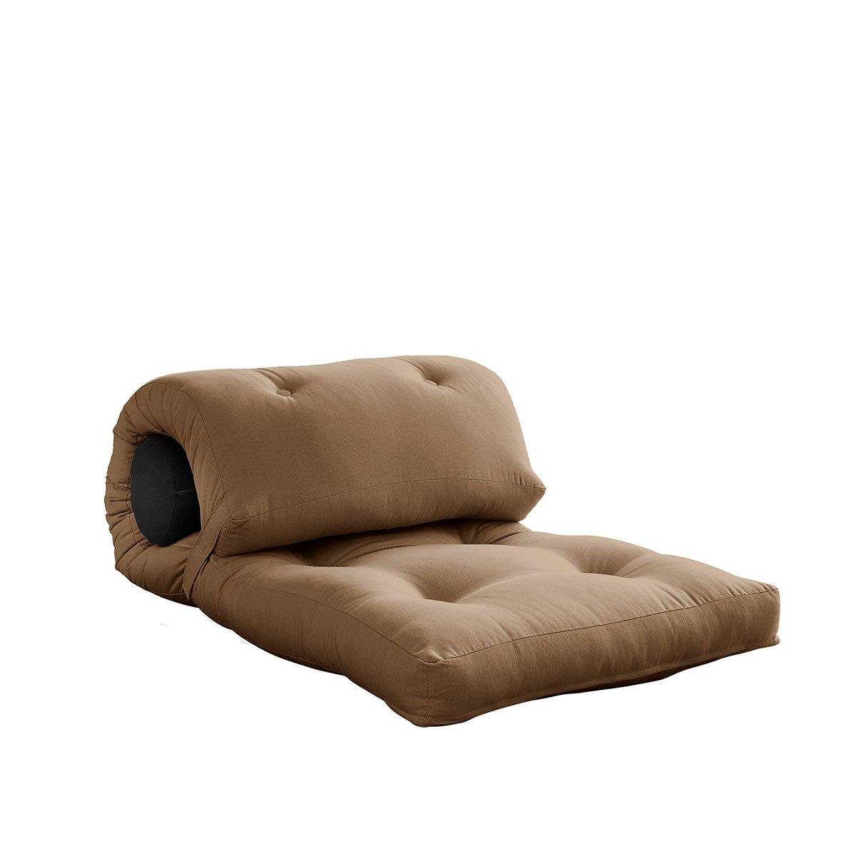 Variabilný matrac Wrap – Mocca/Dark Grey