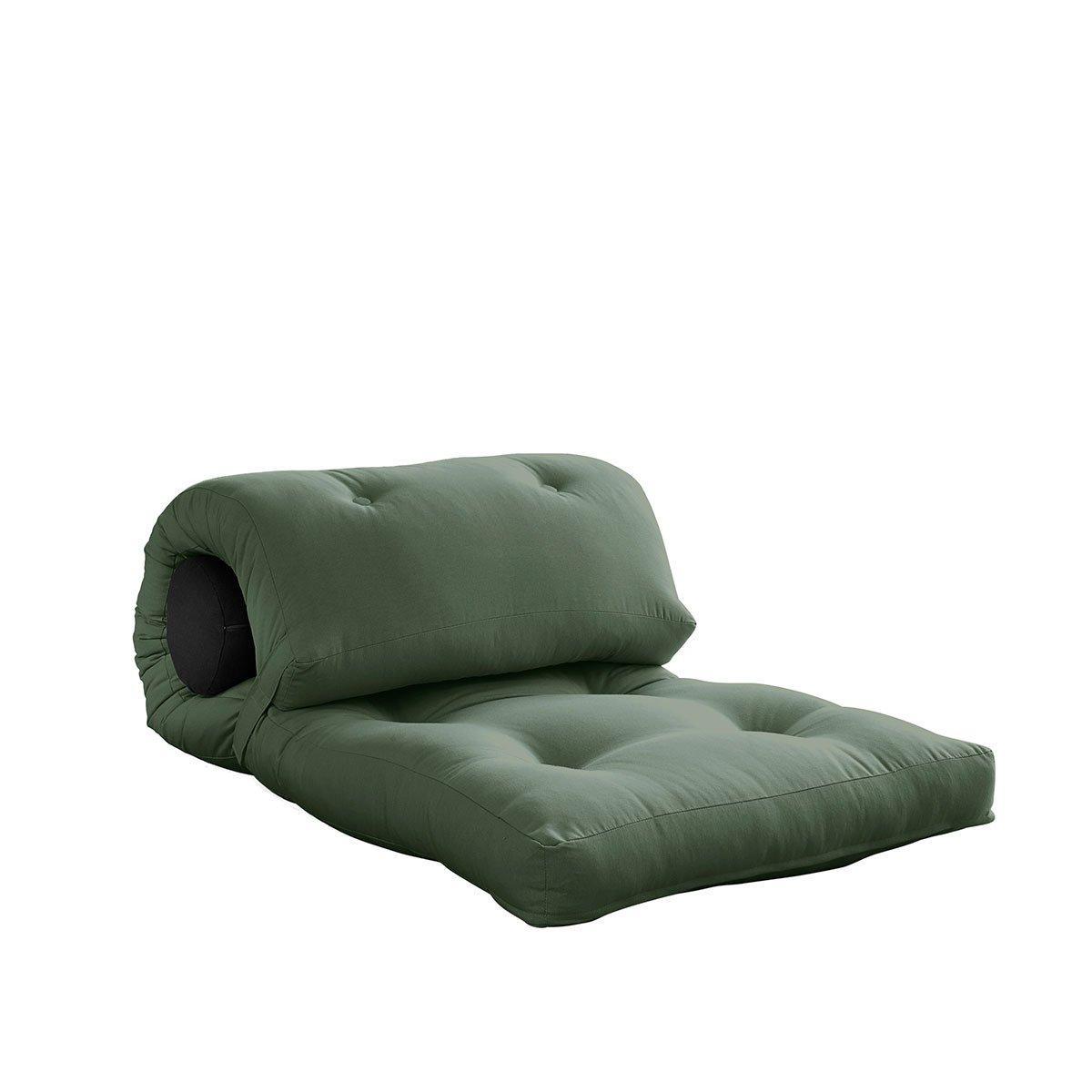 Variabilný matrac Wrap – Olive Green/Dark Grey