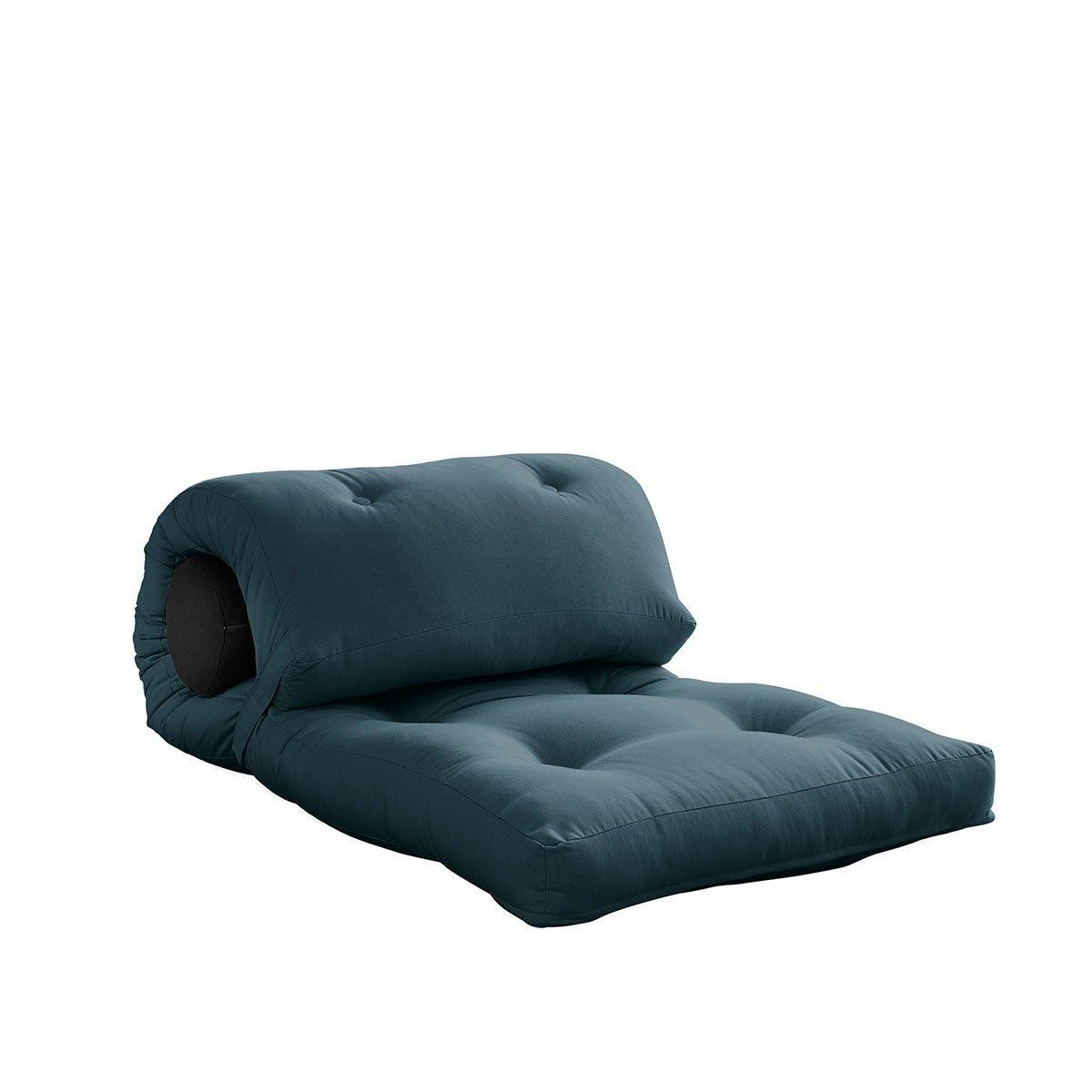 Variabilný matrac Wrap – Petrol Blue/Dark Grey