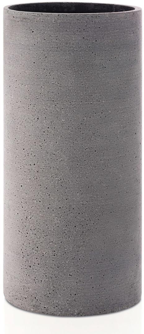 Váza Coluna velikost L tmavě šedá BLOMUS