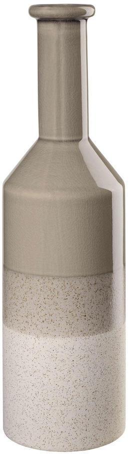 VÁZA, keramika, 41,5 cm - sivá