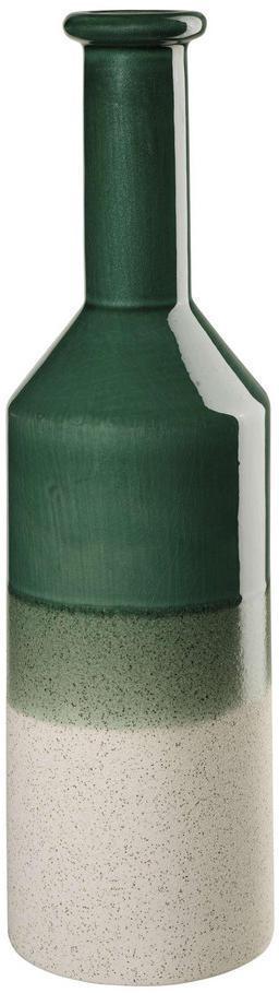 VÁZA, keramika, 41,5 cm - zelená