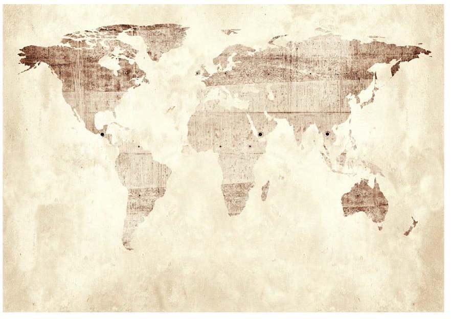 Veľkoformátová tapeta Artgeist Precious Map, 400 x 280 cm