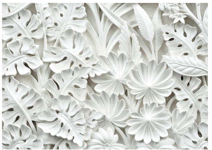 Veľkoformátová tapeta Bimago Alabaster Garden, 350 × 245 cm