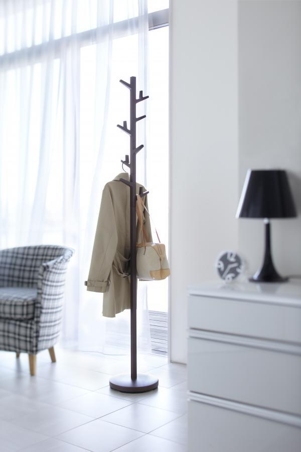 Vešiak Yamazaki Branch Pole Hanger, hnedý