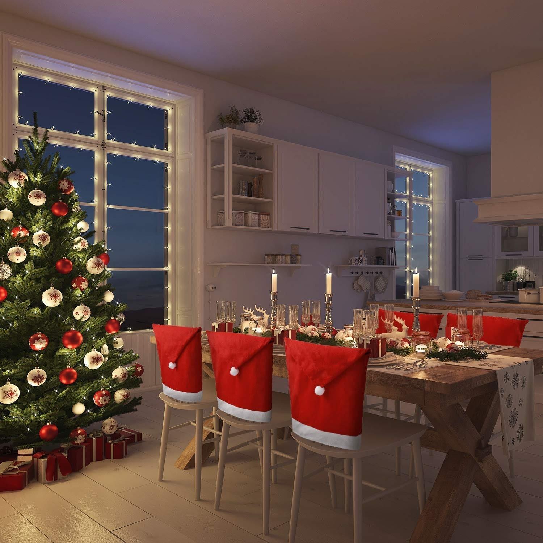 Vianočné návleky na stoličky 4 kusy