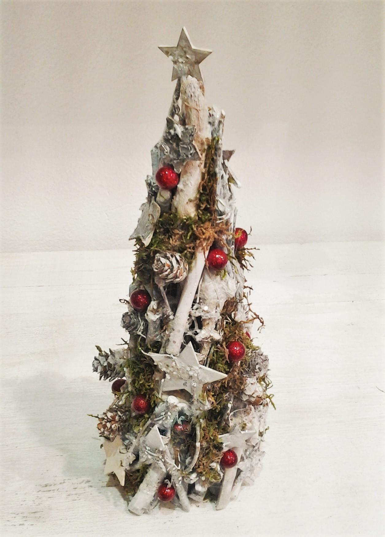 vianočný kužel 12 x 33 cm