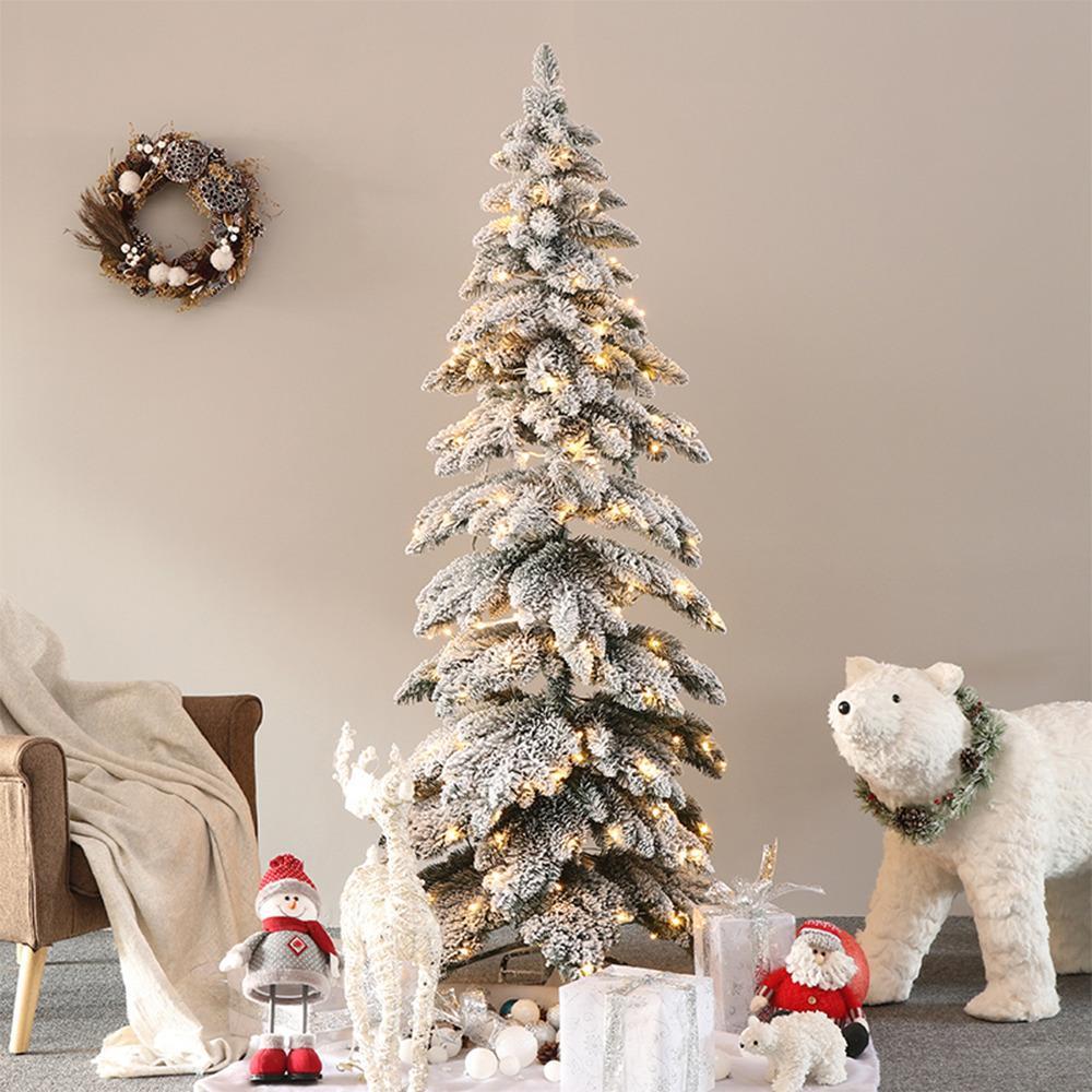 Vianočný stromček, zasnežený, 245 cm, MARAVEL TYP 3