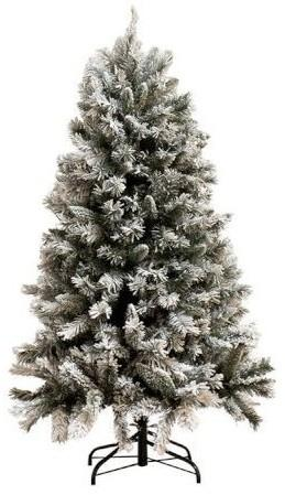Vianočný zasnežený strom Snowy - 90 * 154cm