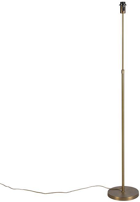 Vintage stojaca lampa nastaviteľná bronzová - Parte