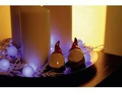 Vnútorná vianočná reťaz Polarlite, 20 LED, modrá