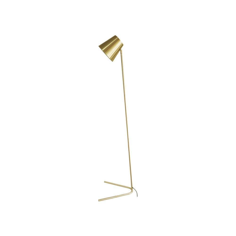 Voľne stojacia lampa v zlatej farbe Leitmotiv Noble