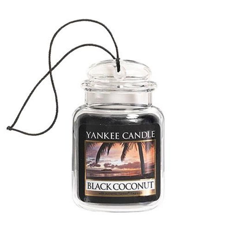 Vôňa do auta Yankee Candle - Black Coconut