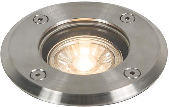 Vonkajšia brúsená bodová oceľ 11 cm IP67 - základná okrúhla