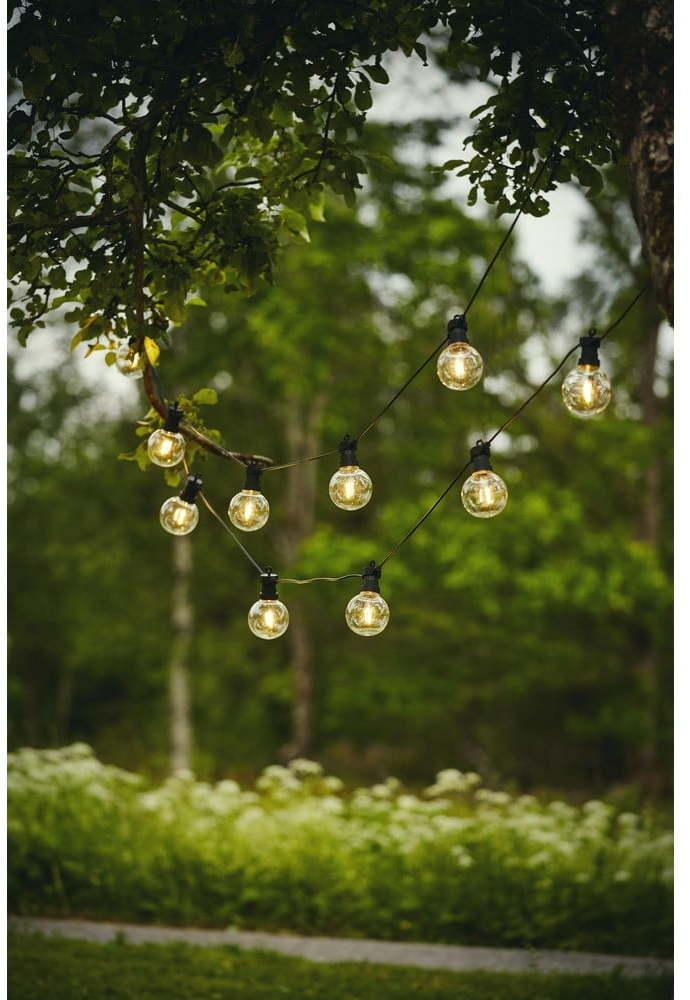 Vonkajšia svetelná LED reťaz Star Trading Big Circus Filament, 10 svetielok