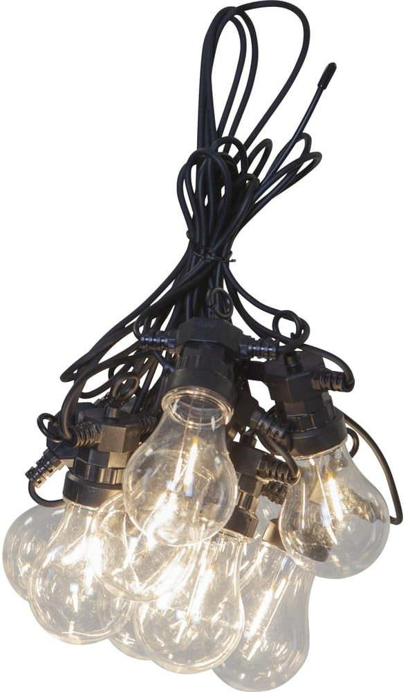 Vonkajšia svetelná LED reťaz Star Trading Circus Filament, 10 svetielok