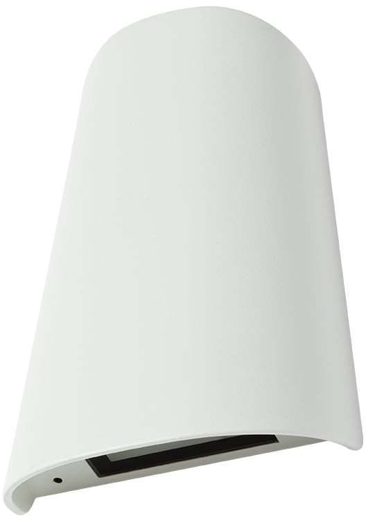 Vonkajšie nástenné svietidlo REDO TWILL AP biela IP65 9534