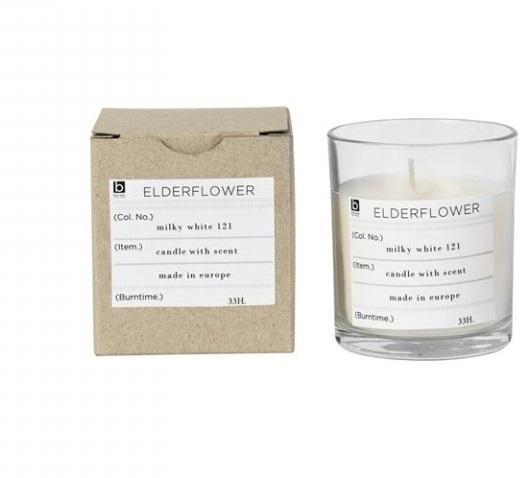 Vonná svíčka Broste Elderflower