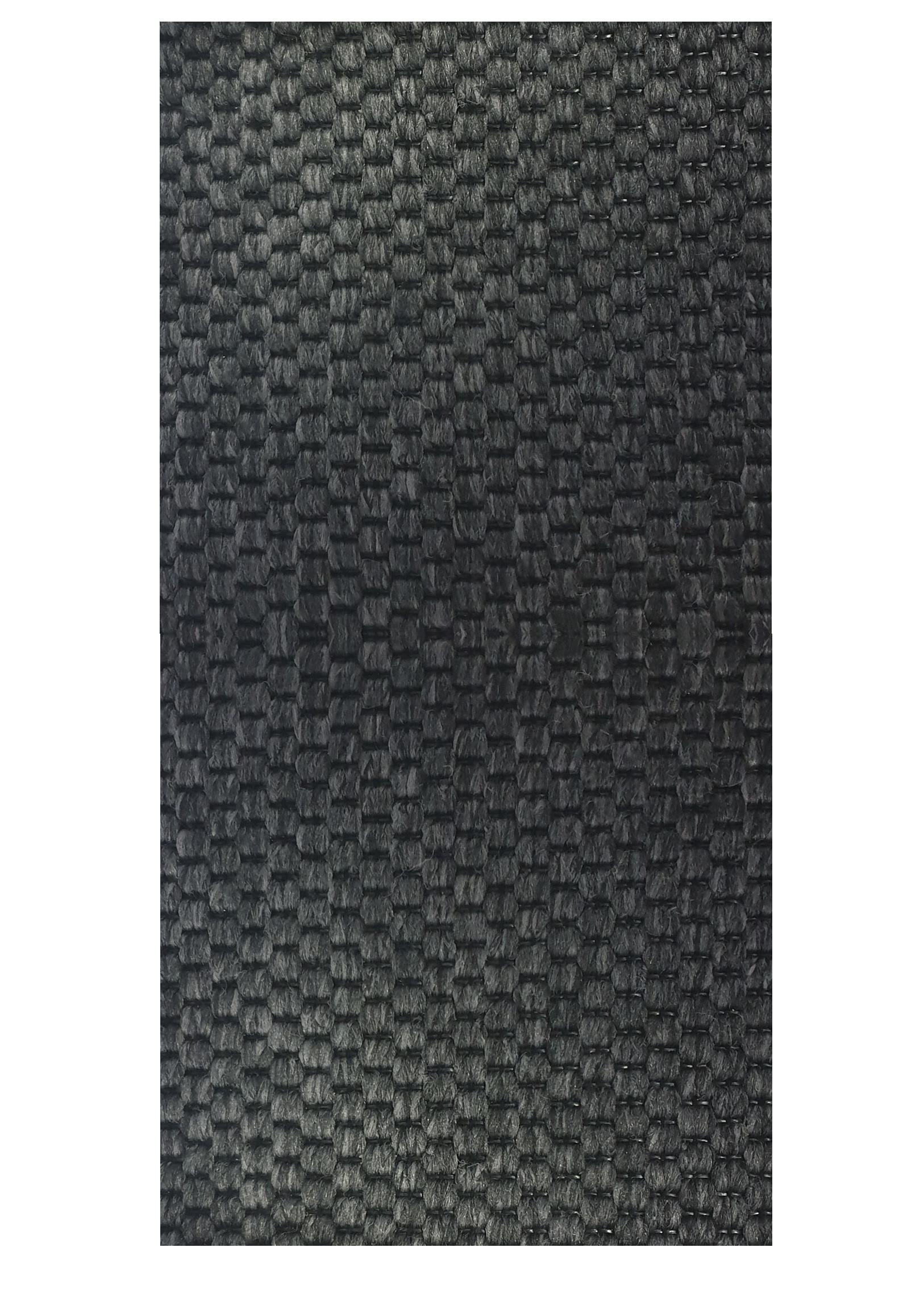 Vopi koberce Běhoun na míru Nature antracit - šíře 200 cm s obšitím