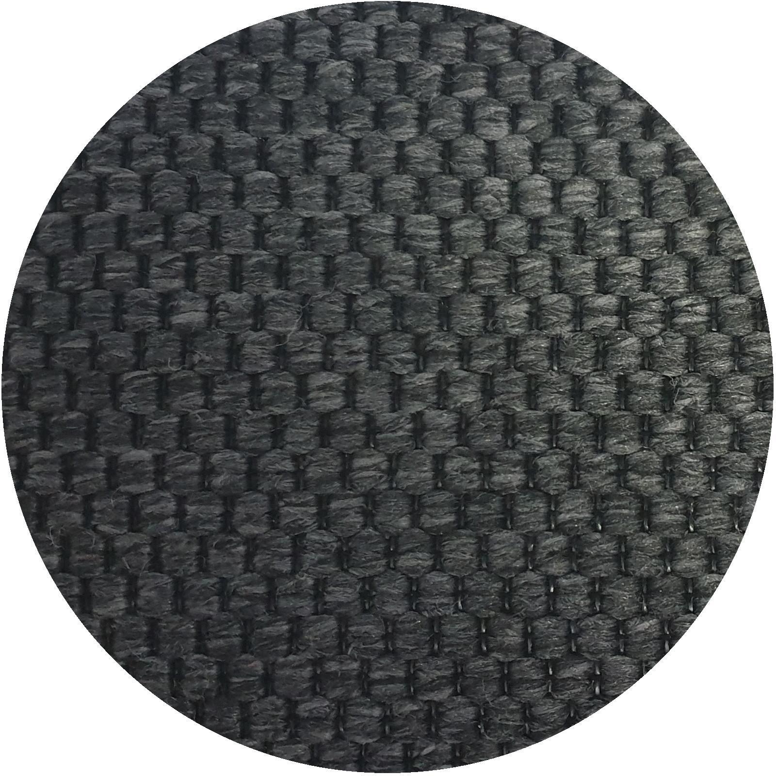 Vopi koberce Kusový koberec Nature antracit kulatý - 80x80 (průměr) kruh cm