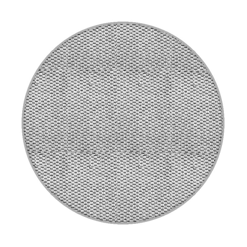 Vopi koberce Kusový koberec Nature platina kulatý - 400x400 (průměr) kruh cm