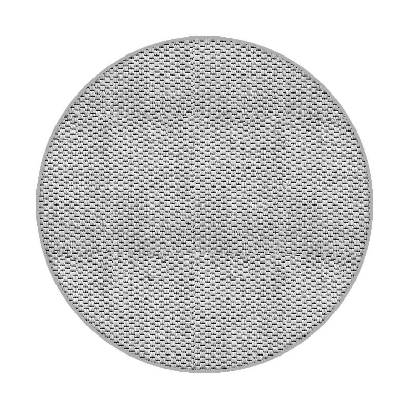 Vopi koberce Kusový koberec Nature platina kulatý - 67x67 (průměr) kruh cm