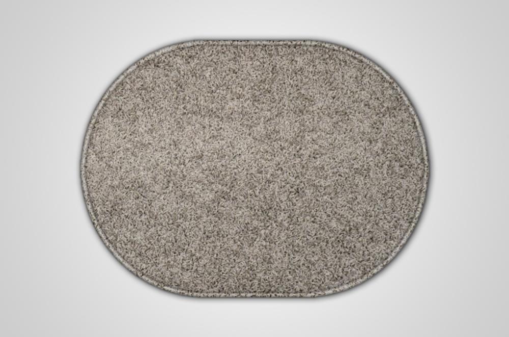 Vopi koberce Kusový šedý koberec Eton ovál - 120x170 cm