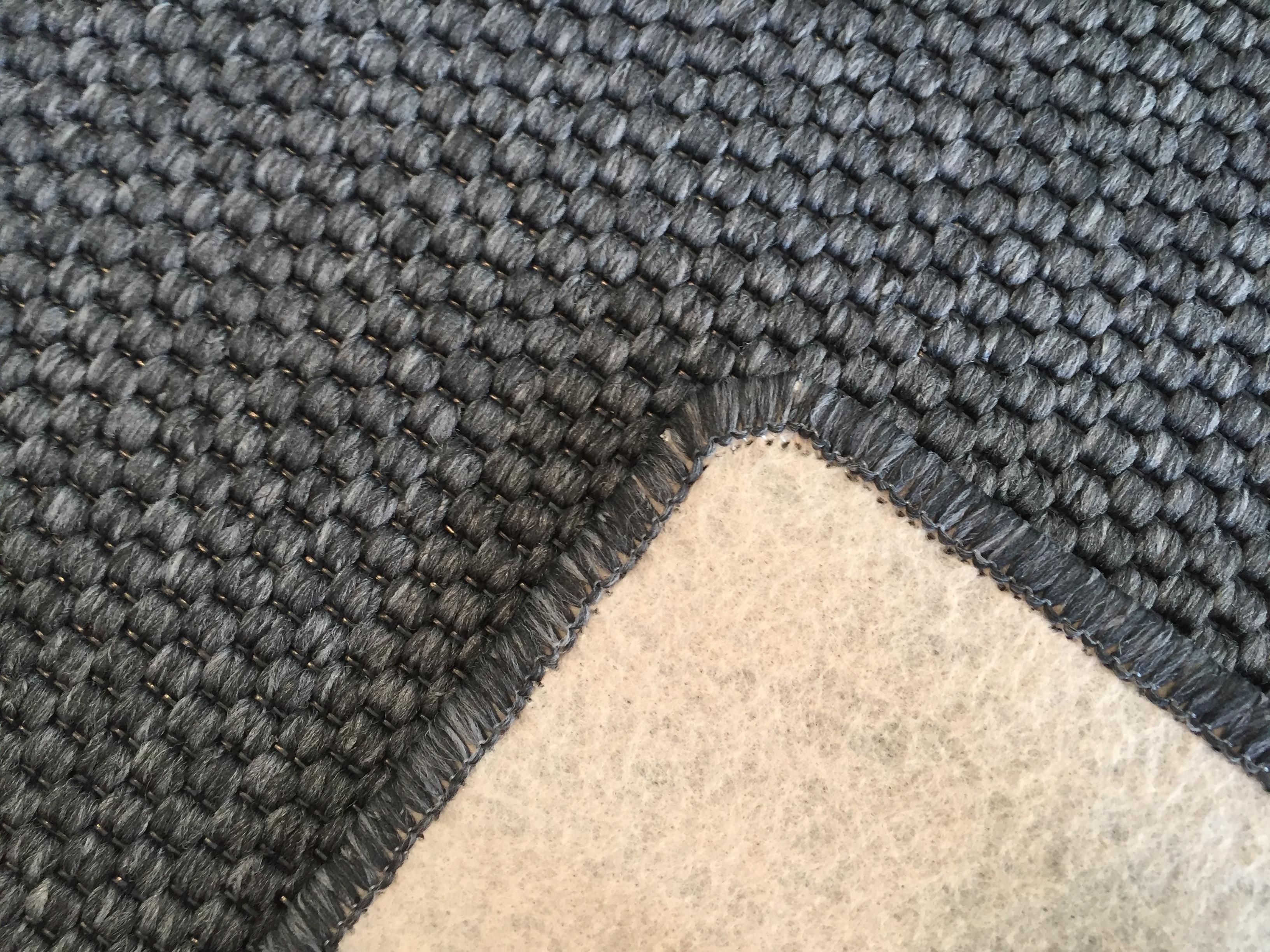 Vopi koberce Metrážový koberec Nature antracit - Rozměr na míru s obšitím cm