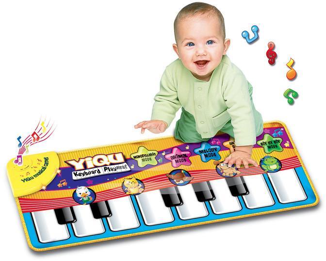 WIKY - Piano - dotyková deka pre najmenších