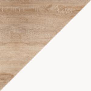WIP Komoda RIO 05 Farba: Dub sonoma svetlá / biela