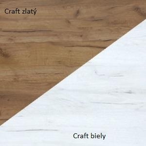 WIP Policový panel VERIN 07 Farba: Craft biely / craft zlatý