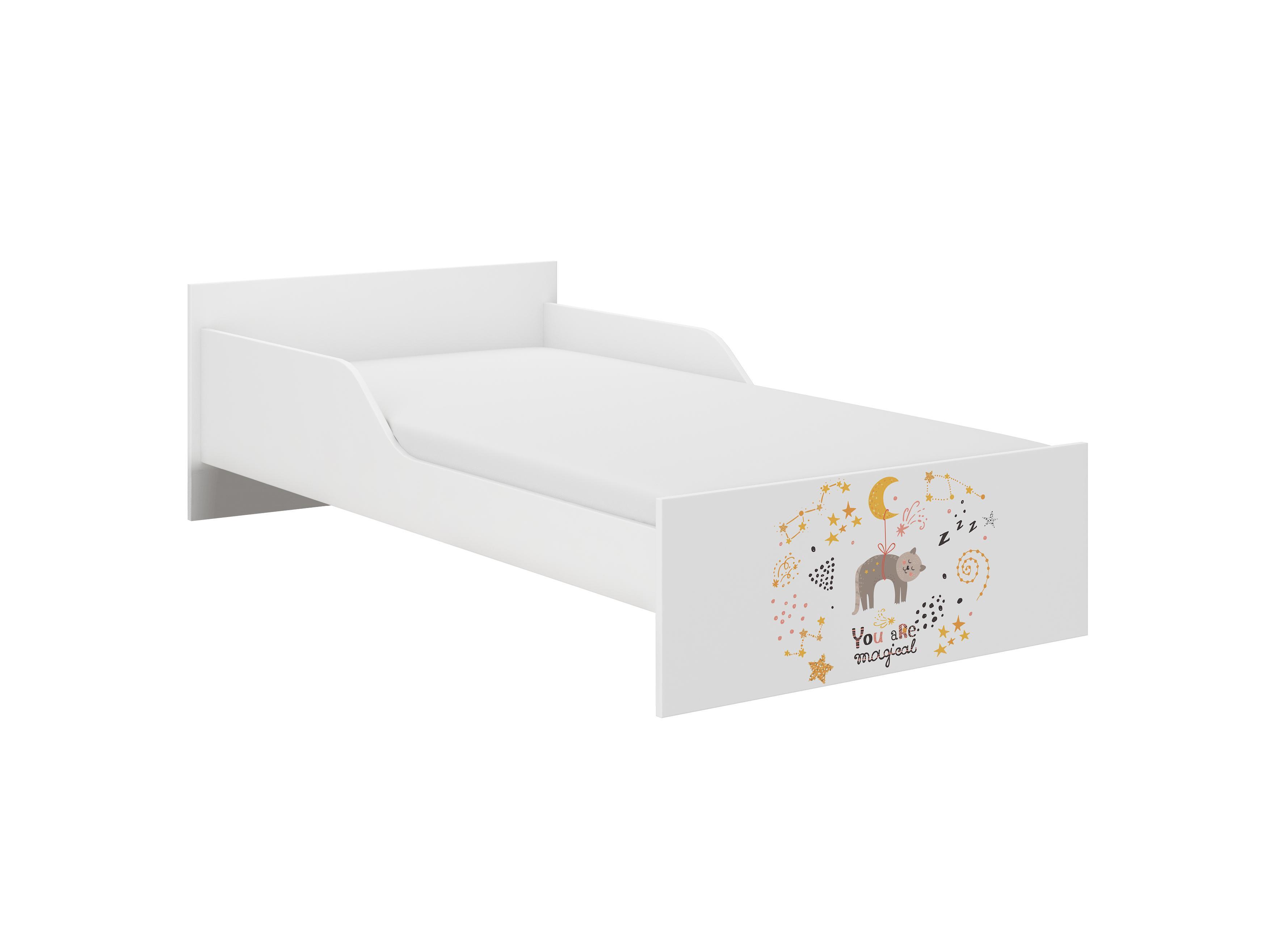 WT Detská posteľ Palermo II - mačka Rozmer lôžka: 160x80