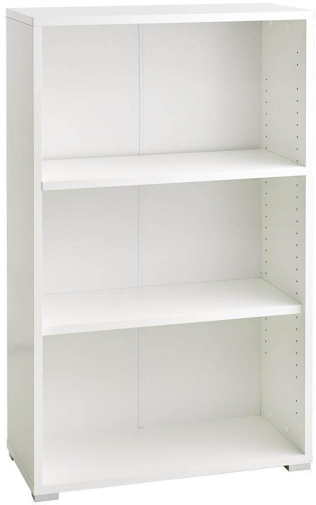 Xora REGÁL, biela, 74,6/121/34 cm - biela