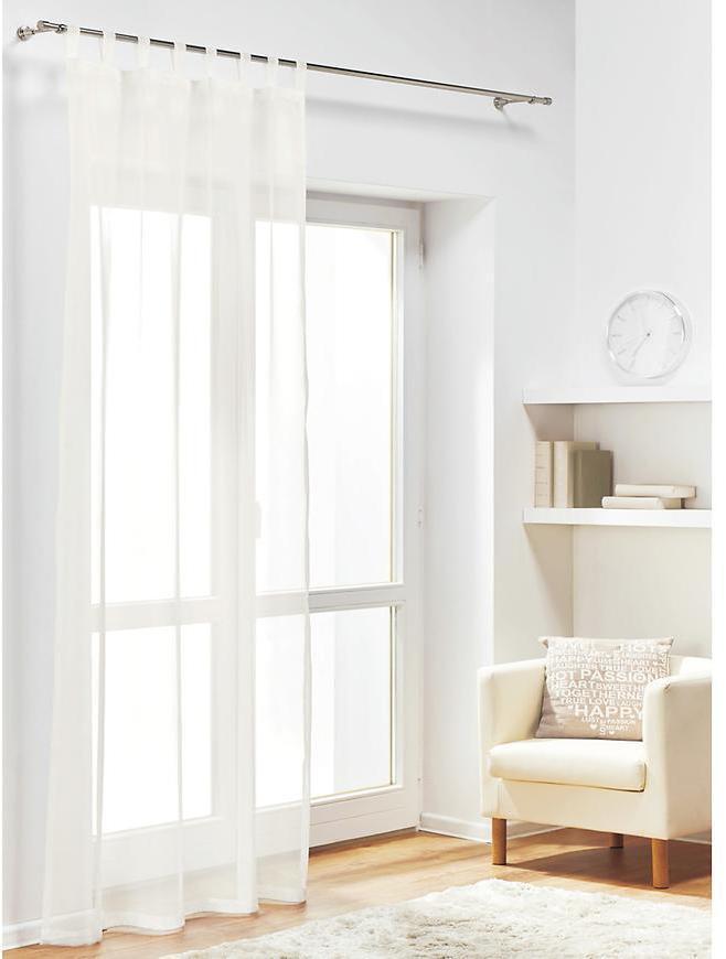 Záclona muselin DIANA biely/270. Tovar na mieru