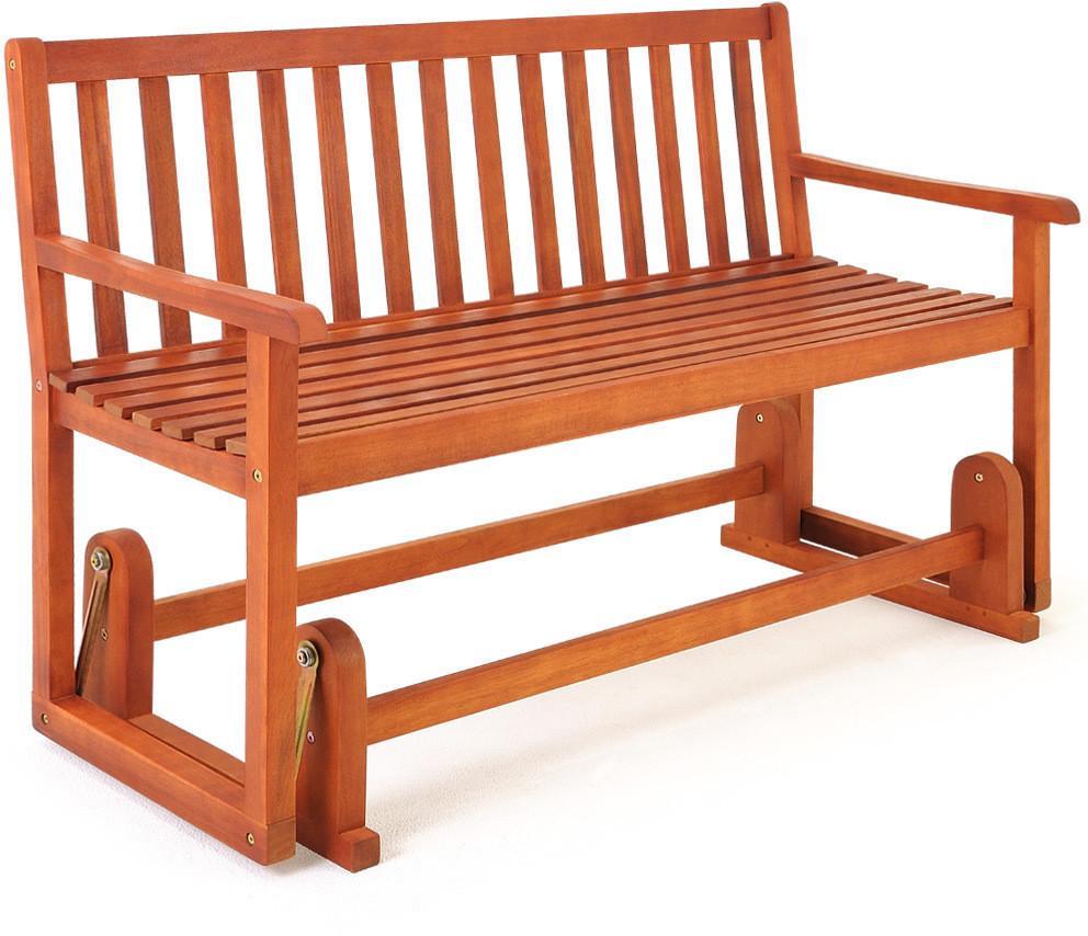 Záhradná hojdacia lavica - 124 cm