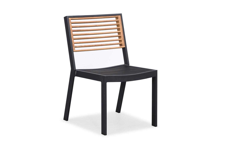 Záhradná jedálenská stolička HIGOLD - York Dining Chair Black/Black