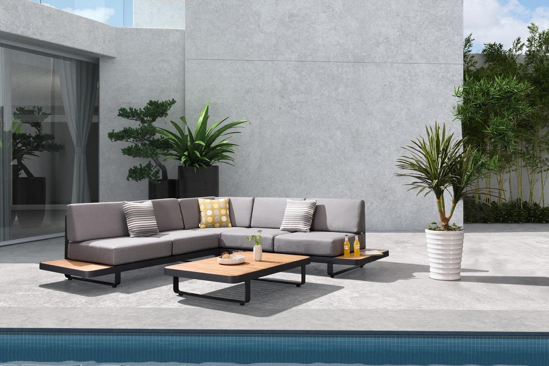 Záhradná rohová zostava HIGOLD - New Polo Corner Lounge Olefin