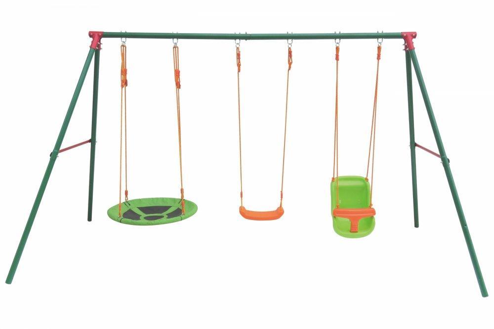 Záhradné detské hojdačky GH9341