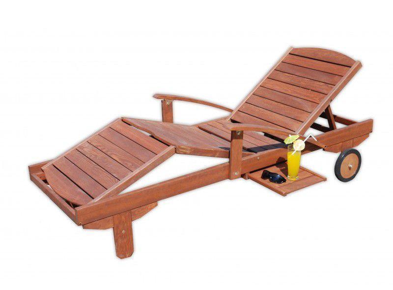 Záhradné drevené lehátko MELAS FSC