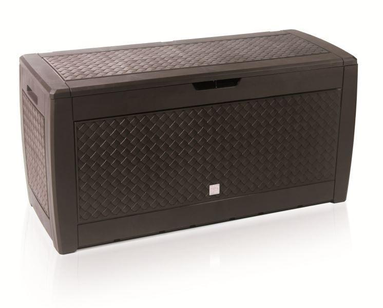 Záhradný box MABO 119 cm - 310 L hnedý