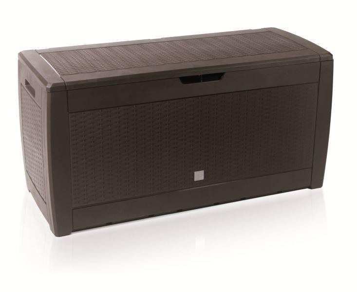 Záhradný box RATANO 119 cm - 310 L hnedý