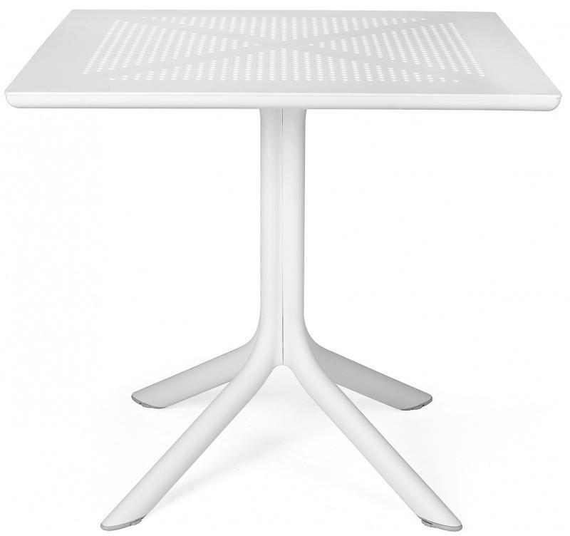 Zahradní stůl Nardi Clip 70 bílý