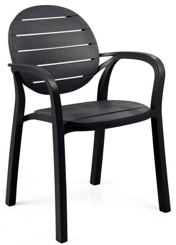 Záhradní židle Nardi Palma antracit