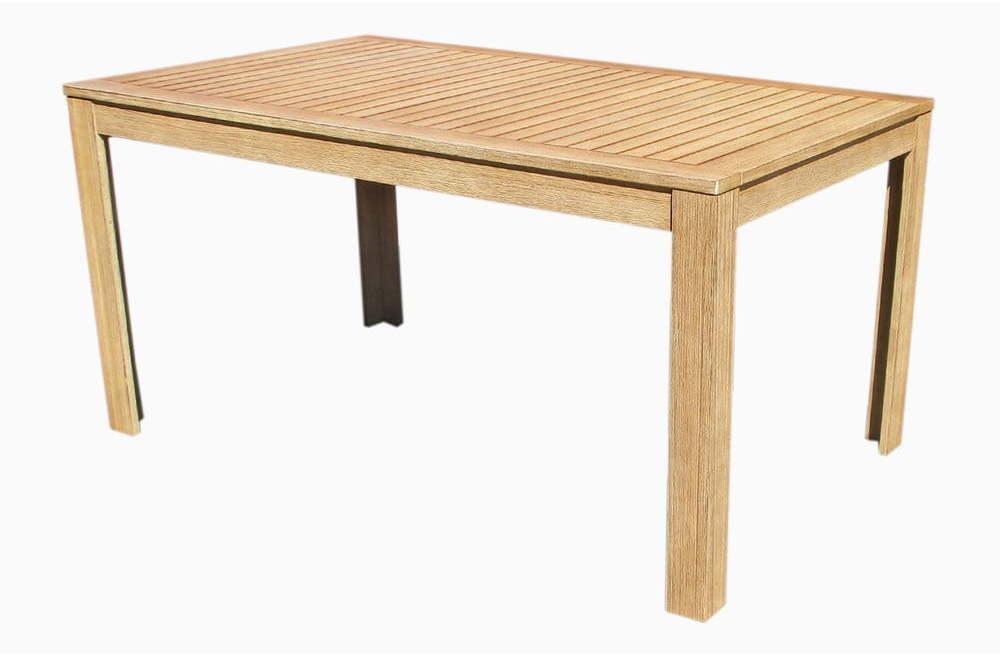 Záhradný jedálenský stôl z akáciového dreva Ezeis Falcon, 150 x 90 cm