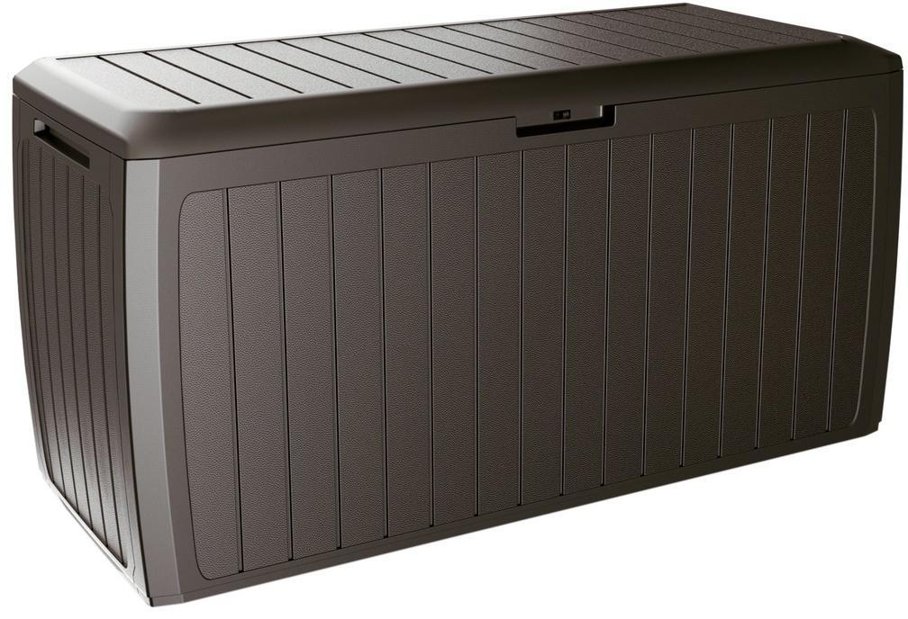 Záhradný úložný box Boxe Board hnedá, 290 l, 116 cm