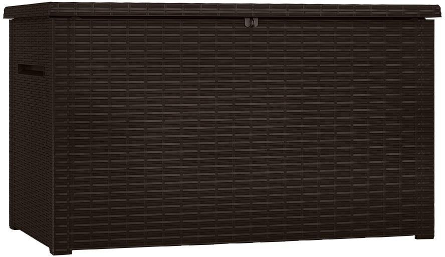 Záhradný úložný box BRAVA 850L tmavohnedý