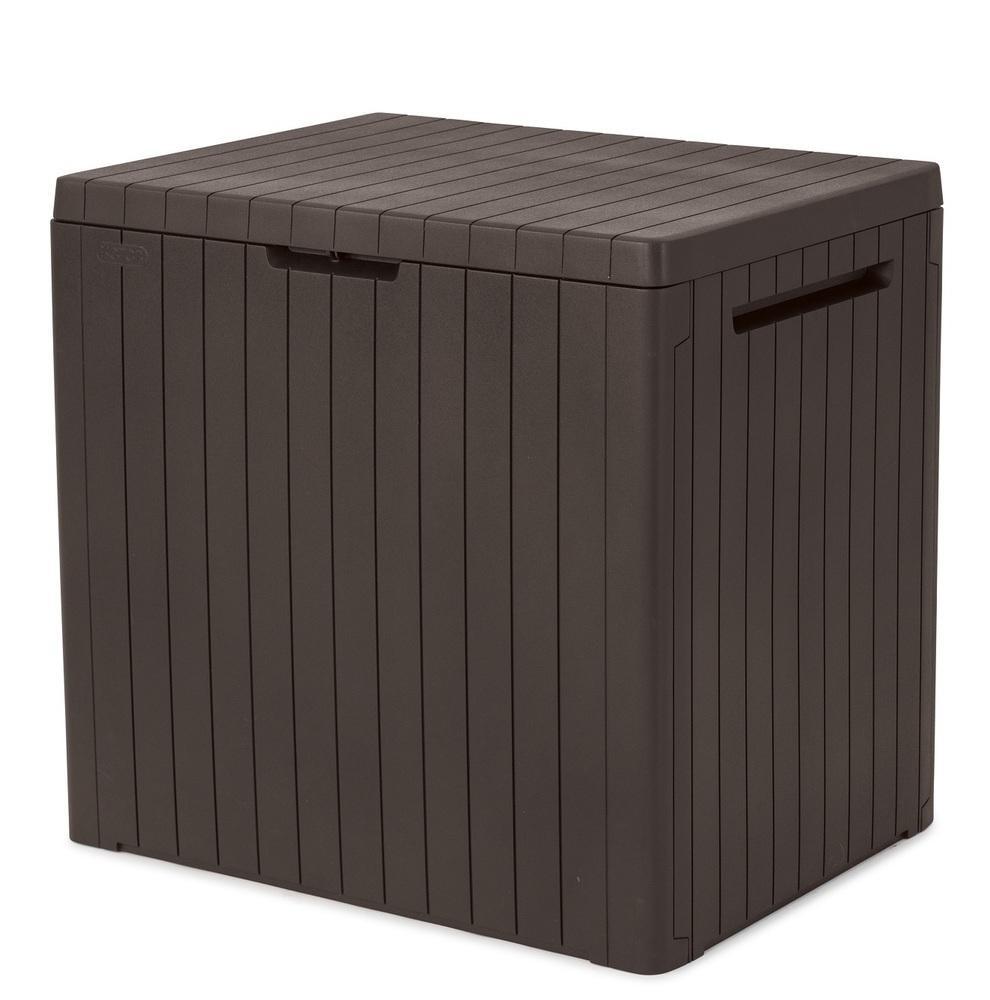 Záhradný úložný box CITI BOX 113 l Hnedá