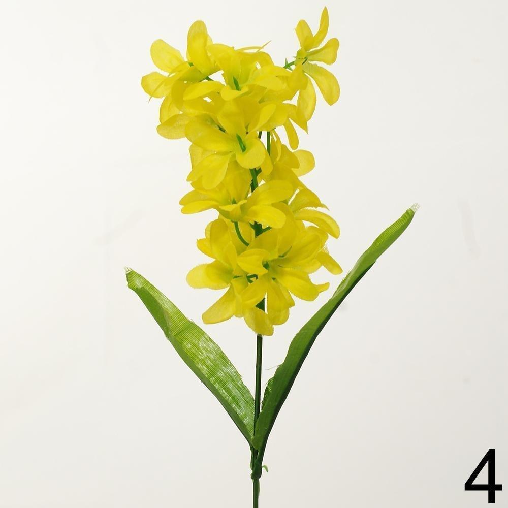 Zápich hyacint 33cm žltý 1100018Z