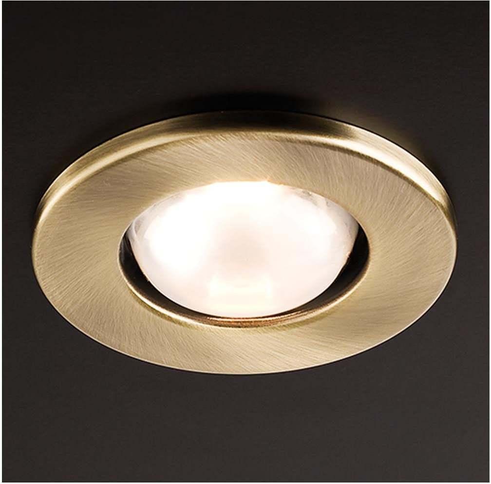 Zápustné - podhľadové svietidlo REDO FR 39 ZLATÁ E14 30W 70218