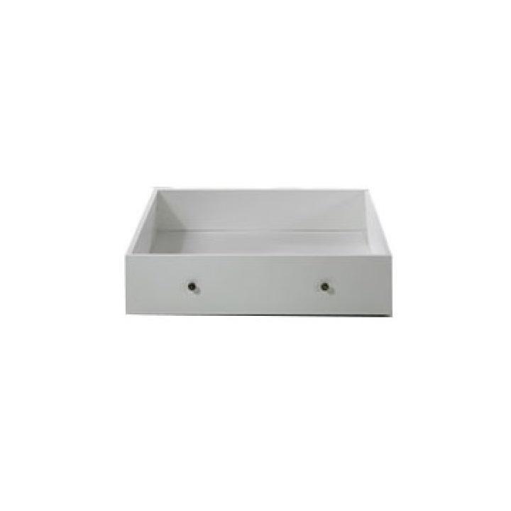 Zásuvný kontajner s kolieskami pod posteľ PARIS biela Tempo Kondela